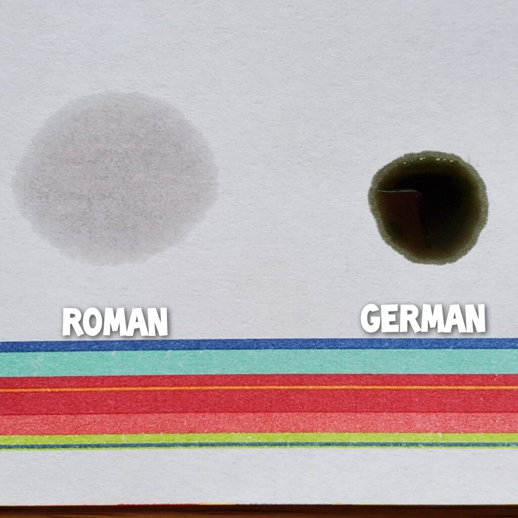 Roman vs German Chamomile